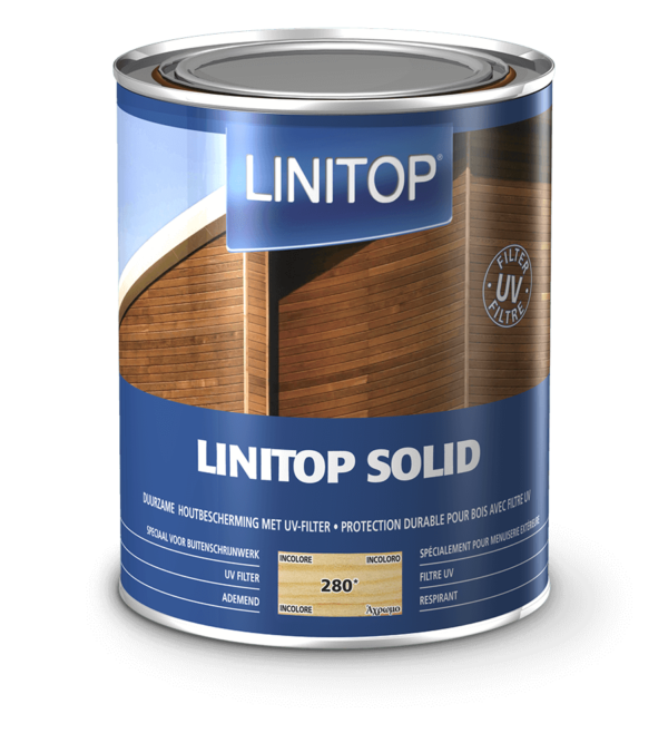Linitop Solid Solvent-based Woodstain